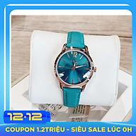 Đồng Hồ Nữ Julius Hàn Quốc Dây Da JA-983LE xanh thumbnail