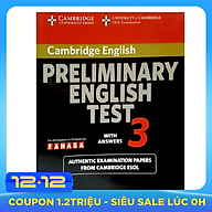 Cambridge Preliminary English Test 3 Student s Book with Answers Reprint Edition thumbnail