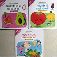 EHON Nhật Bản Song Ngữ 3 cuốn Đừng Quên Xin Lỗi Bạn Nhé - Hãy Nói Lời Cảm Ơn - Chúng Mình Cùng Giúp Nhau - Kỹ Năng Tuyệt Vời Nuôi Dưỡng Tâm Hồn Trẻ thumbnail