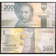 Tờ tiền 2000 rupiah của Indonesia sưu tầm thumbnail