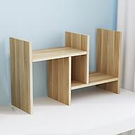 Kệ sách gỗ mini để bàn ( Màu Ngẫu Nhiên ) thumbnail