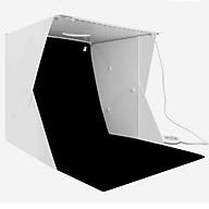Hộp chụp sản phẩm 40cm x 40cm tích hợp 4 dây đèn Led phông nền 6 màu thumbnail