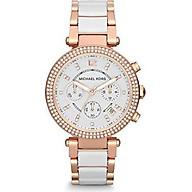 Michael Kors Women s Parker Rose Gold-Tone Watch MK5774 thumbnail