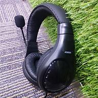 Tai nghe có dây có mic chân cắm chuẩn 3.5 A566N - Hàng nhập khẩu thumbnail