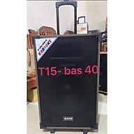 Loa Kéo T15A BNIB Bass 40 Âm thanh tinh khiết, sống động, kèm 2 mic Wireless, kèm khiển từ xa - Hàng Nhập Khẩu thumbnail