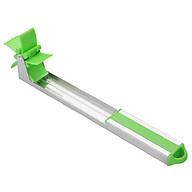 Dụng cụ cắt dưa hấu thành từng miếng siêu nhanh, tiện lợi bằng inox - 25.5 x 9.5 cm thumbnail