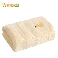 Khăn mặt sợi tre Bamboo Life Khăn lau mặt rửa mặt cao cấp kháng khuẩn siêu thấm hút hàng chính hãng BL041 thumbnail