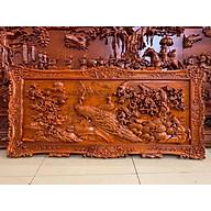 Tranh gỗ treo tường phu thê - gỗ hương đỏ thumbnail