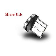 Dây cáp sạc nam châm xoay 360 Micro USB, Type C sạc nhanh không nóng máy tương thích nhiều điện thoại thumbnail