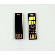Đèn 6 Led cảm ứng vân tay cắm USB (Tặng kèm miếng thép đa năng 11in1) thumbnail