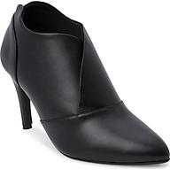 Giày Boot Nữ Cổ Thấp Rosata RO35 - Đen thumbnail