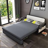Sofa giường dễ thương cho bé có ngăn để đồ tiện lợi - Giường ngủ gập gọn thành ghế sofa 2 trong 1 T359 thumbnail