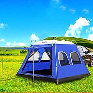 Lều dã ngoại tự bung cỡ lớn dành cho 5-8 người hình ngôi nhà KT 270 270 200cm, chống tia UV cực thông thoáng [BIG SIZE] thumbnail