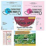 Combo Chinh phục tiếng Nhật từ con số 0 tập 1+2 và Tự Học Tiếng Nhật Dành Cho Người Mới Bắt Đầu Tặng Kèm Sổ tay Từ Vựng thumbnail