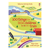 Usborne 100 Things for little children to do on a train thumbnail