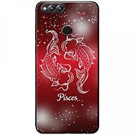 Ốp lưng dành cho Honor 7X mẫu Cung hoàng đạo Pisces (đỏ) thumbnail