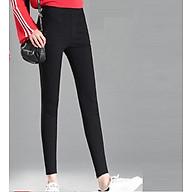 Quần kaki nữ màu đen đủ size thumbnail