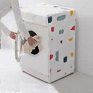 Tấm trùm, phủ bảo vệ máy giặt cửa ngang dưới 8kg thumbnail