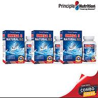 [COMBO] Viên dầu cá Omega 3 Fish Oil 1000mg PRINCIPLE NUTRITION USA hỗ trợ sức khỏe xương khớp tim mạch giảm trầm cảm giúp dễ ngủ và cải thiện sự tập trung thumbnail