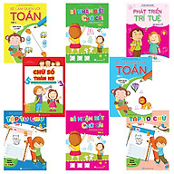 Combo 8 cuốn Bé học IQ (4-5 tuổi) thumbnail