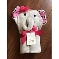 Chăn ủ - khăn tắm hình thú cho bé gái thumbnail