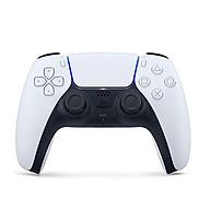 Tay cầm chơi game PS5 DualSense CFI-ZCT1G không dây (Trắng) - Hàng chính hãng thumbnail