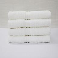 Combo 5 khăn quấn tóc, khăn mặt SPA Nam Phong - 34x80 cm - màu trắng thumbnail