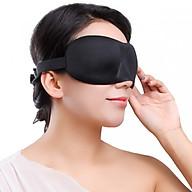 Bộ Bịt Mắt Ngủ 3D Tặng Kèm Bịt Tai Chống Ồn Màu Ngẫu Nhiên thumbnail