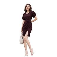 Đầm Nữ Dáng Ôm MEEJENA Đầm Dáng Ôm Nữ Vải Thun Cát Hàn Sọc BASIC TRƠN Thích hợp đi làm, đi chơi - 3065 thumbnail