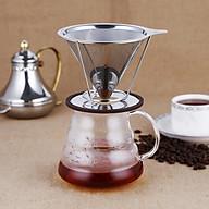Dụng cụ pha drip coffee inox không cần giấy lọc - Phểu lọc inox thumbnail