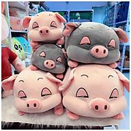 Gấu Bông Lợn Bông Buồn Ngủ full size - Màu hồng đáng yêu - Vừa ôm vừa gối làm quà tặng dễ thương cho bạn nữ thumbnail