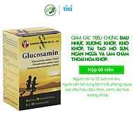 Viên uống TPCN GLUCOSAMIN HỘP 60 VIÊN giúp hỗ trợ quá trình tái tạo mô sụn,ngăn chặn và làm chậm thoái hóa khớp. thumbnail