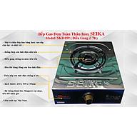 Bếp Gas Đơn Toàn Thân Inox Seika SKB059 - Hàng Chính Hãng thumbnail