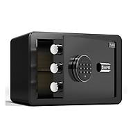 Két sắt mini - Két sắt 31x20x20 cm - Két sắt mini khách sạn an toàn,khóa bảo mật - Màu sắc ngẫu nhiên thumbnail