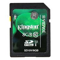 Thẻ Nhớ SDHC Kingston Class 10 (8GB) thumbnail