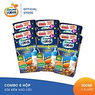 Combo 6 Hộp Sữa đêm ngũ cốc Fruto Nyanya 200ml thumbnail