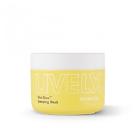 Mặt nạ ngủ chứa vitamin trái cây giúp da căng khỏe, trắng hồng AROMATICA Lively Vita Glow Sleeping Mask thumbnail