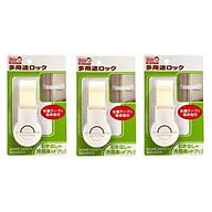 Combo 03 Đai khóa gài cửa phòng, ngăn kéo, tủ lạnh an toàn cho bé - Nội địa Nhật Bản thumbnail