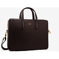 Cặp Da Nam Da Bò Cao Cấp Màu Nâu WT Leather 0922.1 thumbnail