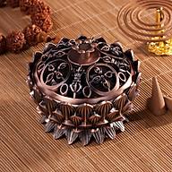 Lư đồng hốt hương hình hoa sen (Tặng 1 sản phẩm ngẫu nhiên) thumbnail
