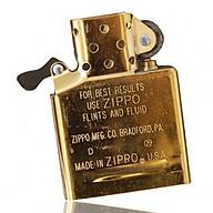 Ruột Zippo mới chính hãng USA màu vàng KHÔNG KÈM VỎ ZIPPO thumbnail