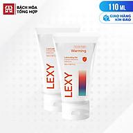 [110ml] Bộ 2 gel bôi trơn ấm nóng - Lexy Warming Chai 55ml thumbnail