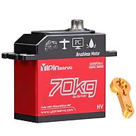 GX3370BLS 70KG Digital Servo IP67 Waterproof Steering Servo 180 Full Metal Body Stainless Steel Gear Brushless Motor thumbnail