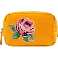 Túi mỹ phẩm Cath Kidston họa tiết Solid (Velvet Make Up Bag ) thumbnail