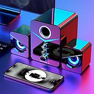 Loa Máy Vi Tính - PC Laptop Gaming Để Bàn Hỗ Trợ Bluetooth 221D Có Đèn Led Nổi Bật thumbnail