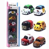 Bộ 6 Ô Tô Mô Hình Hoạt Hình Ngộ Nghĩnh Cartoon AlloyCar thumbnail