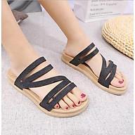 Dép cao su êm chân quai nhũ chịu nước đi mưa đi biển kiểu dáng thời trang mẫu HOT DN01 thumbnail