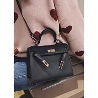 Túi xách tay đeo chéo nữ thời trang công sở T61 kích thước 22x17x7 cm dây đeo chéo da phụ kiện thời trang - T61-1 thumbnail