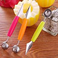 Dụng cụ xúc tạo hình trái cây tròn và gắp mắt dứa 2 trong 1 (Màu ngẫu nhiên) thumbnail