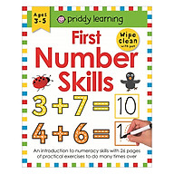 First Number Skills Wipe Clean Workbooks thumbnail